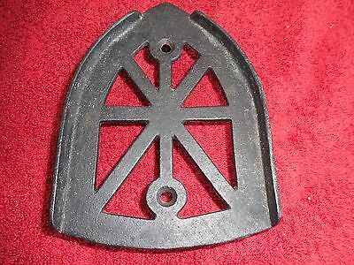Antique cast iron IRON trivet(JS)
