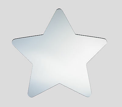 Star , acrylic mirror,  home decor childrens bedroom  wall shatterproof