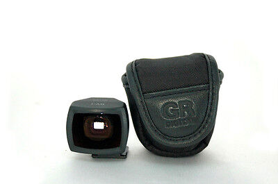 【TOP MINT】 Ricoh View finder GV-1 for GR Digital Camera W/Case from japan #G8