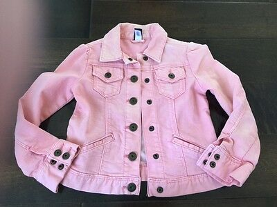 Gap Kids:  Girls Sz 5, Light Pink Jean Jacket
