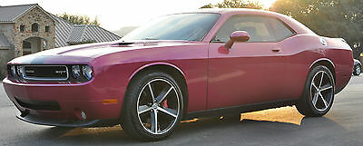2010 Dodge Challenger SRT8 Coupe 2-Door Furious Fuchsia SRT8 Dodge Challenger with 6.1L Hemi and Automatic Trans Loaded