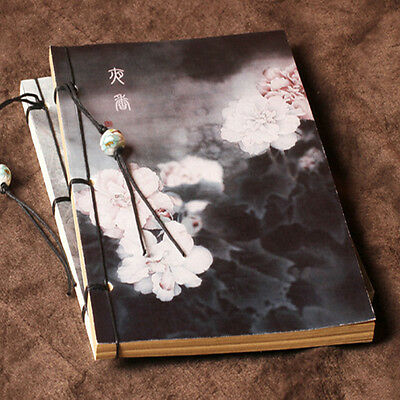 Sewing & glued Sketchbook 80 Sheets White Drawing paper & Kraft Paper Art Paper