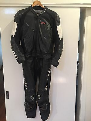 Rev-it Motorcycle Leather Suit Size 50/48