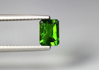 1.08 Cts_Gem Miracle !!! Collection_100 % Natural Vivid Green Chrome Diopside !!