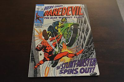 Daredevil #58 (1969, Marvel) great cover with back cover issues