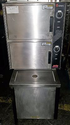 Groen HyPerSteam Convection Steamer HY-6E Cabinet Mounted, Double-Stacked
