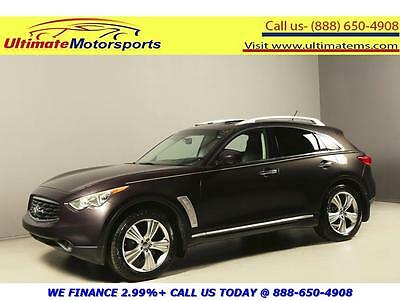 "2009 Infiniti FX Base Sport Utility 4-Door 2009 INFINITI FX35 SUNROOF LEATHER HEAT/COOL SEATS 20""ALLOYS BROWN"
