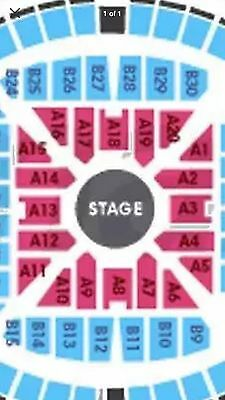 2 X ADELE Melbourne SATURDAY MARCH 18 A RESERVE FLOOR - Hard Copy Tickets Posted