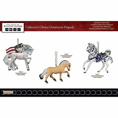 """Trail of Painted Ponies """"2017 Collectors Choice Ornaments"""""""