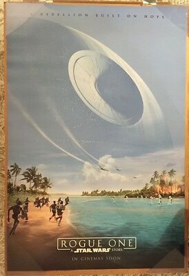 ROGUE ONE A STAR WARS STORY MOVIE POSTER 2 Sided ORIGINAL INTL Version B 27x40