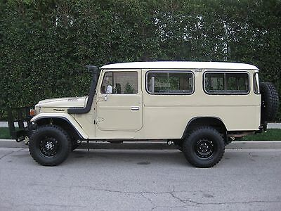 1982 Toyota Land Cruiser HJ47 1982 Toyota Land Cruiser HJ47 Troop Carrier with 2H Diesel engine not HJ45 FJ40