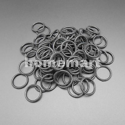 100PCS Silicone Rubber Band Drive belt Pulley Model Motor DIY 2mm X 19mm 2*19mm