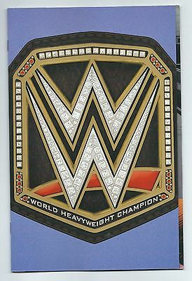 WWE 2 retail variant cover Championship Belt new series ONE per store Boom