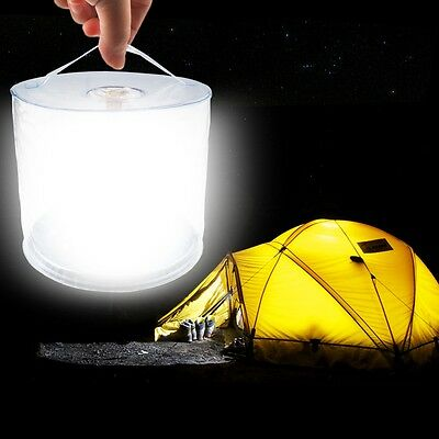 Inflatable Solar LED Lantern, 10 LED Collapsible & Waterproof Camping Lantern