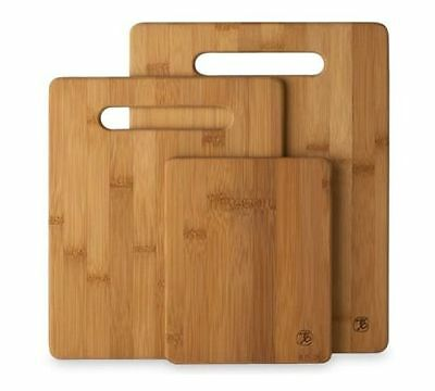 New Totally Bamboo 20 7930 3 Piece Cutting Board Set Free Shipping