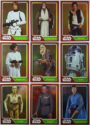 STAR WARS Journey to Force Awakens MIRROR FOIL Card SET   UK Edition 161 - 191
