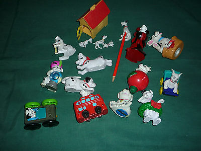 17 Piece Lot of Disney's 101 Dalmatians