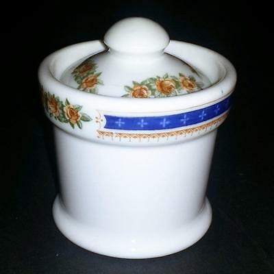 Vintage SAL SEABOARD AIRLINE RAILROAD RR CHINA PALM BEACH SMALL Mustard Pot(S)