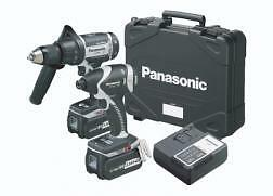 Panasonic EYC159LR 18v EY7550 Impact Driver and EY7950 Combi Drill New Free P&P