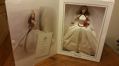 1997 Vera Wang Barbie Bride with certification and Artwork Series 1