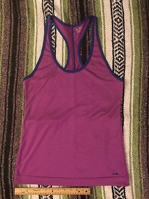 Champion womens Tank Top sz M loose active yoga running workout *pull in thread*