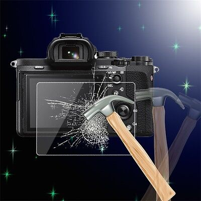 Tempered Glass Camera LCD Screen Protector Cover for Sony A7/A7R/A7S CU