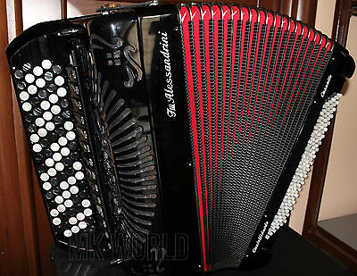 FISARMONICA CROMATICA 120bassi DOUBLE CASSOTTO 2+2 accordion accordeon Akkordeon