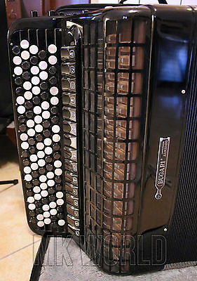 ACCORDION fisarmonica cromatica BAYAN free bass cassotto accordeon akkordeon 120
