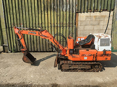 Kubota KH5 Mini Digger Excavator - Delivery from £140+VAT ##TRADE PRICE###