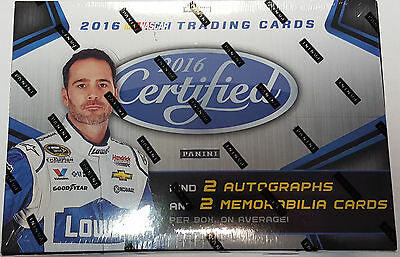 2016 Certified Nascar Trading Cards Hobby Box 2016 Brand New Sealed