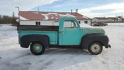 1952 Ford Other Pickups F1 1952 Ford F1 Half Ton Short Bed Pickup All Original Truck Flathead V8
