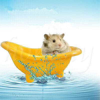 Hamster Rat Mice Mouse Bathtub Pearl Bear Toilet Bath Tub Pet Supplies Accessory
