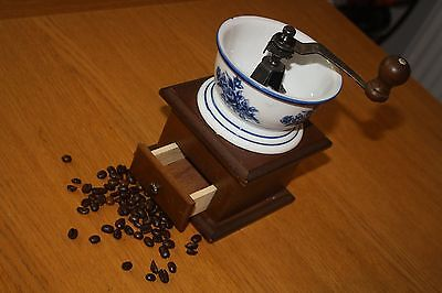 Vintage French Style Coffee Grinder ~  French Kitchenalia