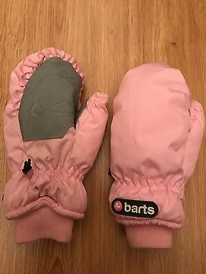 Barts childrens warm padded ski gloves age 4-6-used once RRP £35
