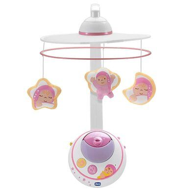 Mobile double projection First Dreams rose Chicco