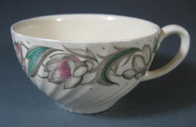 Shabby vintage art deco Susie Cooper 'Endon' English china teacup