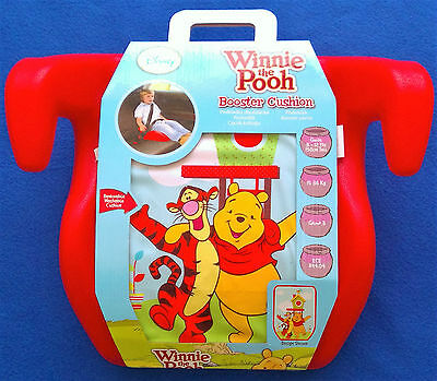 Car Booster Seat - Winnie The Pooh & Tigger - 15-36Kg Group 3 - New