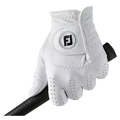 Footjoy Mens Cabrettasof Left Hand Golf Glove - New Fj Right Handed Leather 2016