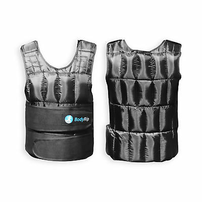 New Weighted Vest 20KG Gym Weight Training Running Adjustable Jacket Fitness
