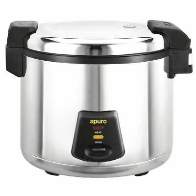Apuro Commercial Electric Rice Cooker 13Ltr | Non-stick, Automatic Warmer