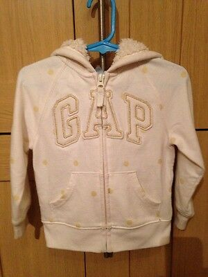Gap Girls Zip Up Hooded Jacket Age 2 Years Vgc
