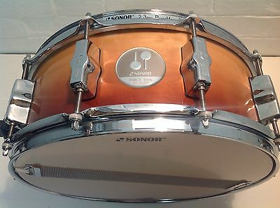 "Sonor 3005 14"" X 5.5"" Maple Shell Snare Drum - 10 Lug"