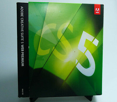 Adobe CS5 Web Premium Mac retail 65067973 full retail version