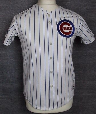 #2 Vintage Chicago Cubs Baseball Jersey Shirt Majestic Youths Large Rare
