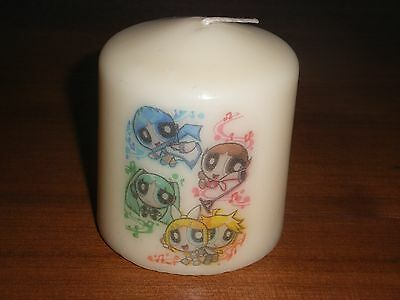 Candle Picture of Powerpuff Girls Type Can be Personalised Birthday Memorial New