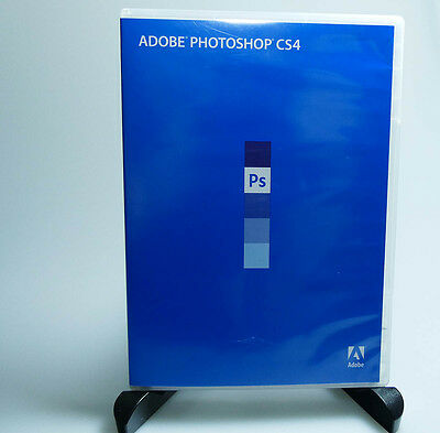 Adobe Photoshop CS4 for Windows full retail genuine activation available W7/8/10