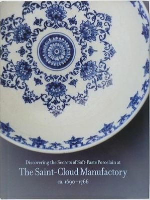 Antique French Saint-Cloud Soft-Paste Porcelain - French Ceramics @ 1690-1766