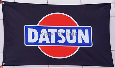 NEW car racing flag banner flags 3x5FT free shipping for Nissan Datsun Flag HOT