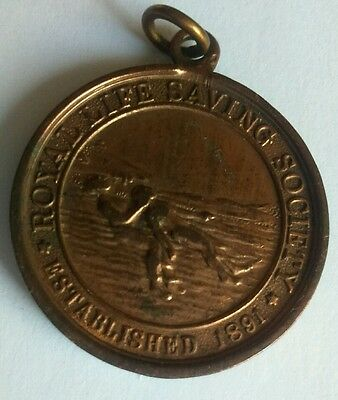 1932 Royal Life Saving Society RLSS swimming bronze medal award to J. Wilding