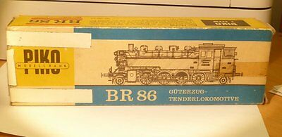 Piko Empty packaging the steam locomotive BR 86 1800-1 the DR Ep. 3/4 Case Box